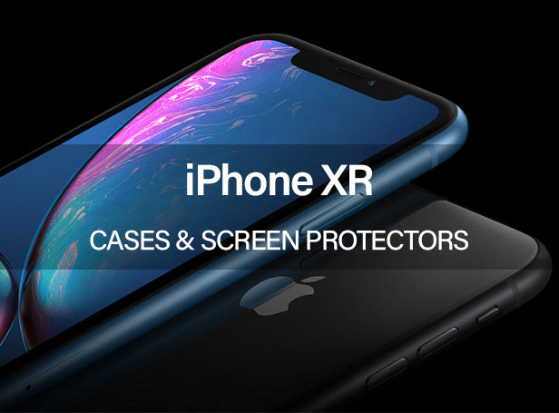 iPhone XR Cases and Screen Protectors