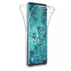 Samsung Galaxy Galaxy S20 Galaxy S20+ Galaxy S20 Ultra Galaxy S10 Galaxy S10+ Galaxy S10e Galaxy Note 10 Galaxy Note 10+ Galaxy A40 360 Protection Full Body Gel Case - Clear