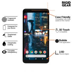 Google Pixel 2 XL - Tempered Glass 9H 2.5D Smooth Edges Screen Protector
