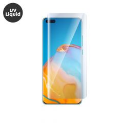 Huawei P40 Pro UV Liquid Curved Tempered Glass Screen Protector Full Coverage