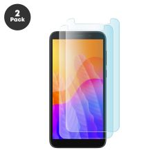 Huawei Y5p Case Compatible Ultra Clear HD 9H 2.5D Tempered Glass Screen Protector - 2 Pack