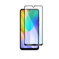 Huawei Y6p Full Coverage 9H Anti-Shatter Ultra HD Clear Tempered Glass Screen Protector