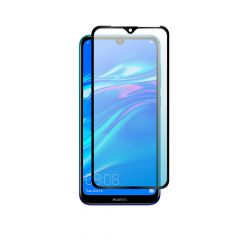 Huawei Y7 2019 Edge to Edge Coverage Full Glue Back 9H Anti-Shatter Tempered Glass Screen Protector