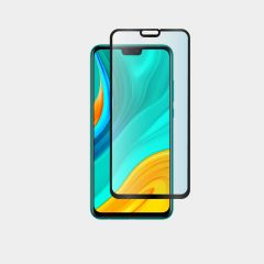 Huawei Y8s Full Coverage Full Glue Back 9H Ultra HD Tempered Glass Screen Protector
