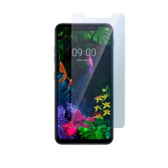 LG G8s Ultra Clear Anti-Fingerprint Anti-Shatter Tempered Glass Screen Protector - Clear