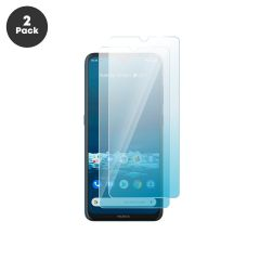 Nokia 5.3 Case Compatible 9H 2.5D Ultra Clear HD Tempered Glass Screen Protector - 2 Pack