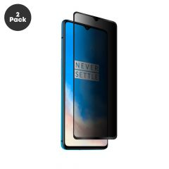 OnePlus 7T Premium 9H Anti-Shatter Full Coverage Privacy Filter Tempered Glass Screen Protector