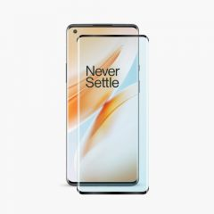 OnePlus 8 Pro Curved Tempered Glass 9H Edge to Edge Screen Protector Full Coverage