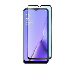 Oppo A11X Edge to Edge Full Glass Back Anti-Fingerprint Tempered Glass Screen Protector