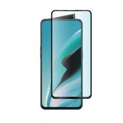 Oppo Reno 2 Full Glue Anti-Shatter Anti-Fingerprint Full Coverage Tempered Glass Screen Protector - Black