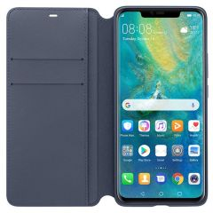Official Huawei Mate 20 Pro Wallet Cover Case - Deep Blue 51992635