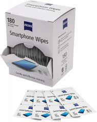 ZEISS Smartphone Tablet Screen Lens Spectacles Glasses Moist Wipes, Pack of 180
