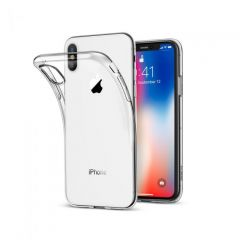 Rigid Gear iPhone XS Max Clear Gel Case - Ultra Thin - Transparent