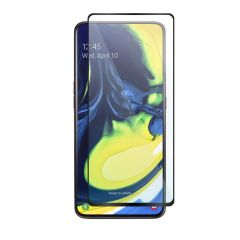 Samsung Galaxy A80 Full Coverage Anti-Fingerprints Anti-Shatter Full Glue Tempered Glass Screen Protector