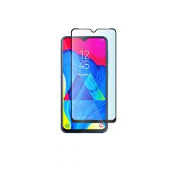 Samsung Galaxy M10 / A10s Full Cover Full Back Glue 9H Anti-Fingerprints Tempered Glass Screen Protector - Black