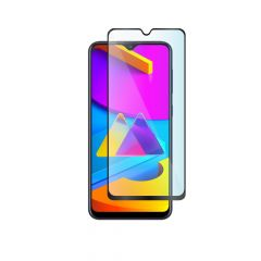 Samsung Galaxy M10s Edge to Edge Anti-Shatter Full Glue Back Tempered Glass Screen Protector