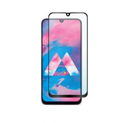 Samsung Galaxy M30 Full Coverage Full Glue Back 9H Anti-Shatter Tempered Glass Screen Protector
