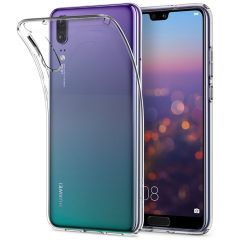 Huawei P20 Gel TPU Clear Case - Spigen Liquid Crystal