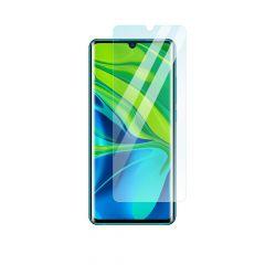 Xiaomi Mi Note 10 Case Compatible Anti-Fingerprint Anti-Shatter Ultra Clear Toughened Tempered Glass Screen Protector
