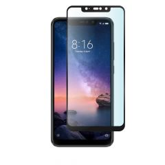 Xiaomi Redmi Note 6 Pro Full Coverage Anti-Fingerprint Anti-Shatter Full Glue Tempered Glass Screen Protector - Black