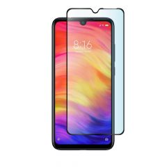 Xiaomi Redmi Note 7 Full Coverage Full Glue Anti-Fingerprint Anti-Shatter Tempered Glass Screen Protector - Black