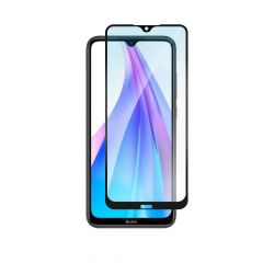 Xiaomi Redmi Note 8T Full Coverage Full Glue Anti-Fingerprint Anti-Shatter Tempered Glass Screen Protector - Black