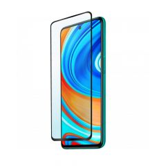 Xiaomi Redmi Note 9 / Note 9 Pro Full Coverage Anti-Shatter Ultra HD Clear Tempered Glass Screen Protector - Black