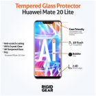 Huawei Mate 20 Lite Case Compatible Clear Tempered 9H Glass Screen Protector